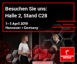 HANNOVER MESSE vom 1. April – 5. April 2019