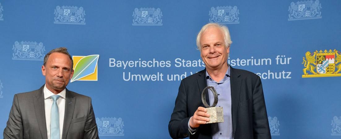Effizienz für die Industrie – Contech gewinnt Bayerischen Ressourceneffizienzpreis 2021