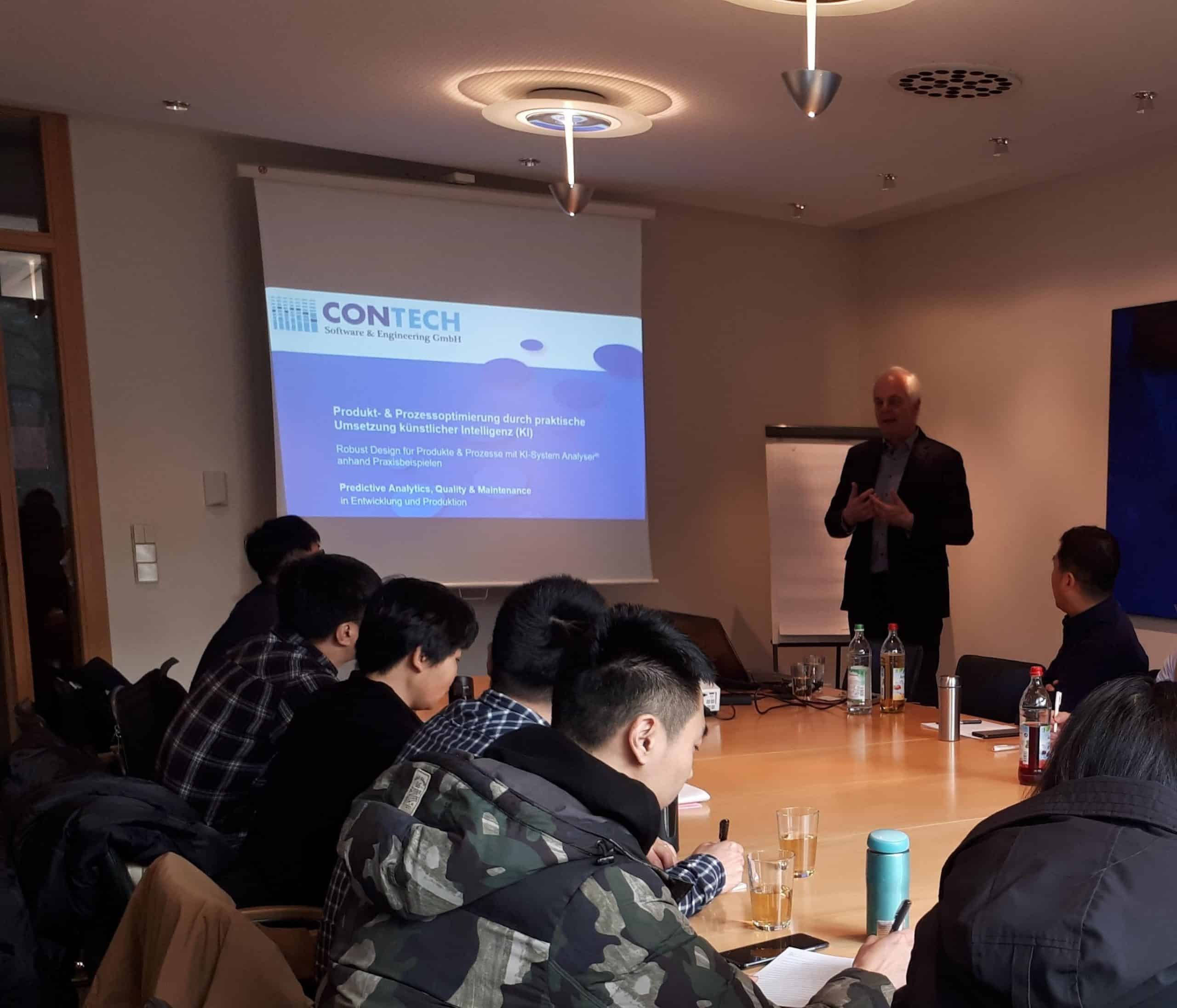 Besuch der Chinesischen Delegation von CASIC