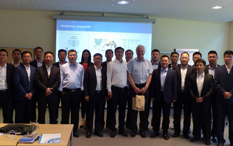 Delegation aus China zu Besuch bei der Contech