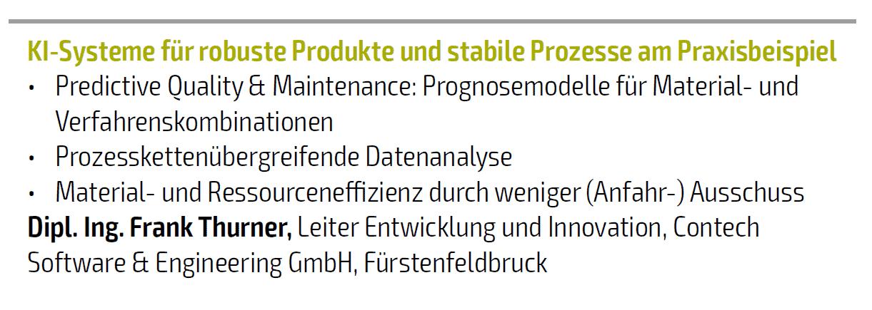 Contech – VDI Tagung Spritzgießen am 11. Februar 2020 in Baden-Baden