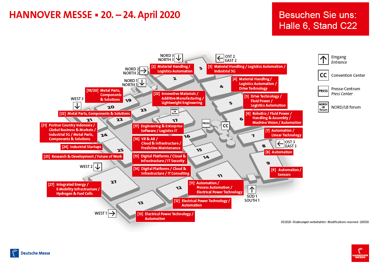 Contech Software & Engineering GmbH Hannover Messe 2020