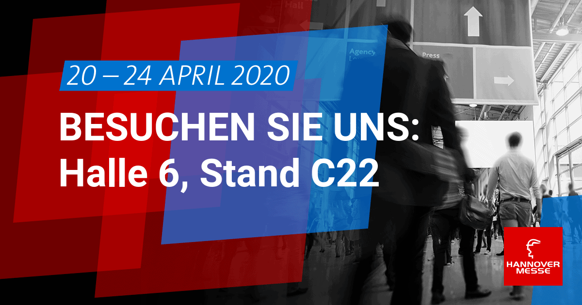 Contech & HANNOVER MESSE vom 20.-24. April 2020